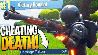 Winning Whilst Taking the MOST DAMAGE on Fortnite BR! - PS4 Fortnite BR Solos Game!