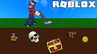 BEST TREASURE DETECTOR! | ROBLOX #admiros