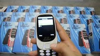 Rẻ Ngon : Điện thoại Zip 3310 Màn Hình Siêu Đẹp Loa To