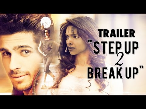 "Thumbnail: Deepika Padukone & Sidharth Malhotra in ""Step Up 2 Break Up"" - Trailer (HD)"