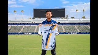 Efrain Alvarez Goals/Skills/Assists |  LA Galaxy II ● 2017-2018