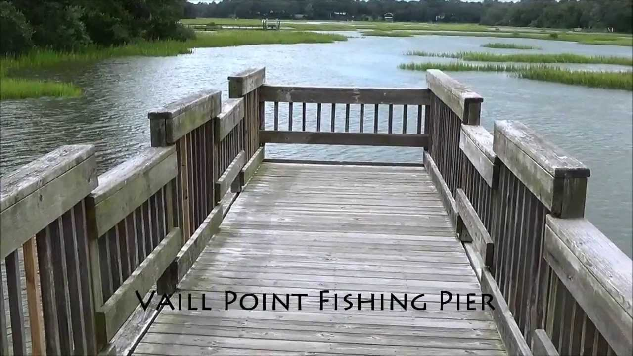 Vaill point park fishing pier youtube for St augustine fishing pier