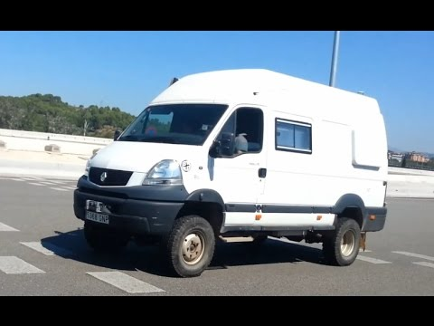 renault mascott 4x4 by pere maimi camper offroad van awd youtube. Black Bedroom Furniture Sets. Home Design Ideas