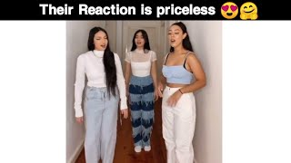 singing in front of friends and their reaction is amazing 😍