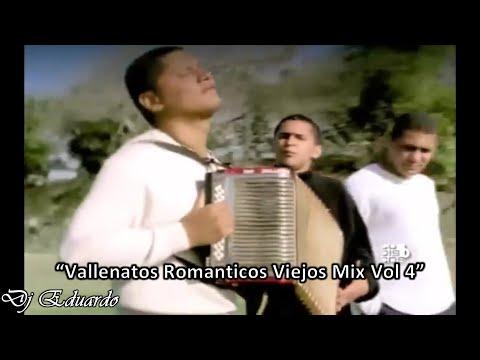 Vallenatos Romanticos Viejos Mix Vol 4 Los Diablitos Binomio de Oro Nelson Velasquez Jorge Celedón