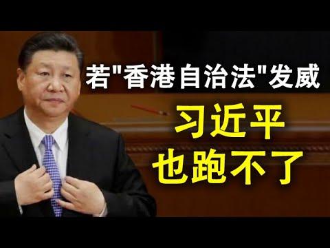 """国安恶法只能""""选择性执法"""",选谁才是问题;中共会在香港封网吗?若""""香港自治法""""这一条款发威,习近平也跑不了(政论天下第191集 20200702)天亮时分"""