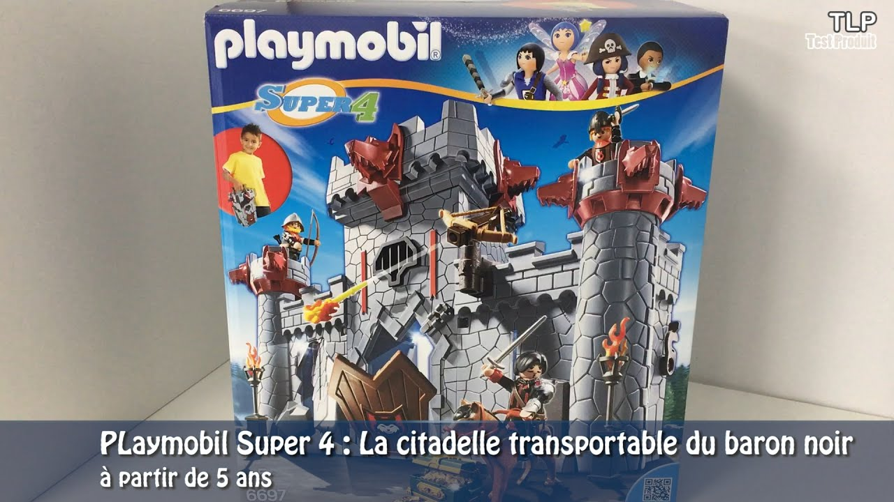 playmobil 6697 super 4 la citadelle transportable du. Black Bedroom Furniture Sets. Home Design Ideas