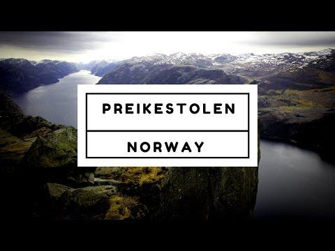 FOLLOW ME AROUND: hikee to PREIKESTOLEN (Pulpit Rock) in NORWAY
