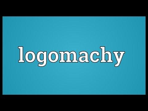 Header of logomachy