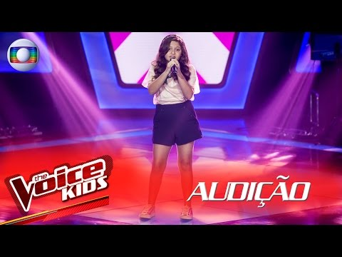 Duda Bonini canta 'Coisa Linda' na Audição – The Voice Kids Brasil | 2ª Temporada