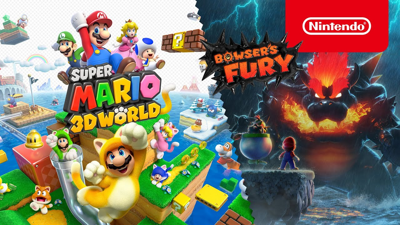 Explorad en compañía un colorido mundo en Super Mario 3D World + Bowser's Fury! (Nintendo Switch) - YouTube