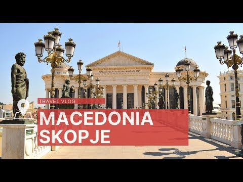 Skopje, Macedonia. The capital of kitsch?
