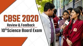 CBSE 10th Science Board Exam 2020 Paper Review, Feedback, Students' Reactions & More