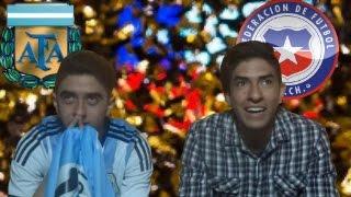 Final Copa América Centenario Argentina vs Chile.(Reacción Penales) Final Match
