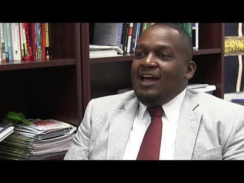 Dr. Keith Davis, Principal Blalack Middle School