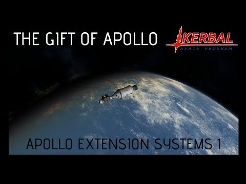 The Gift of Apollo (1): Apollo Applications Program (Apollo Extension Systems) Kerbal Space Program |