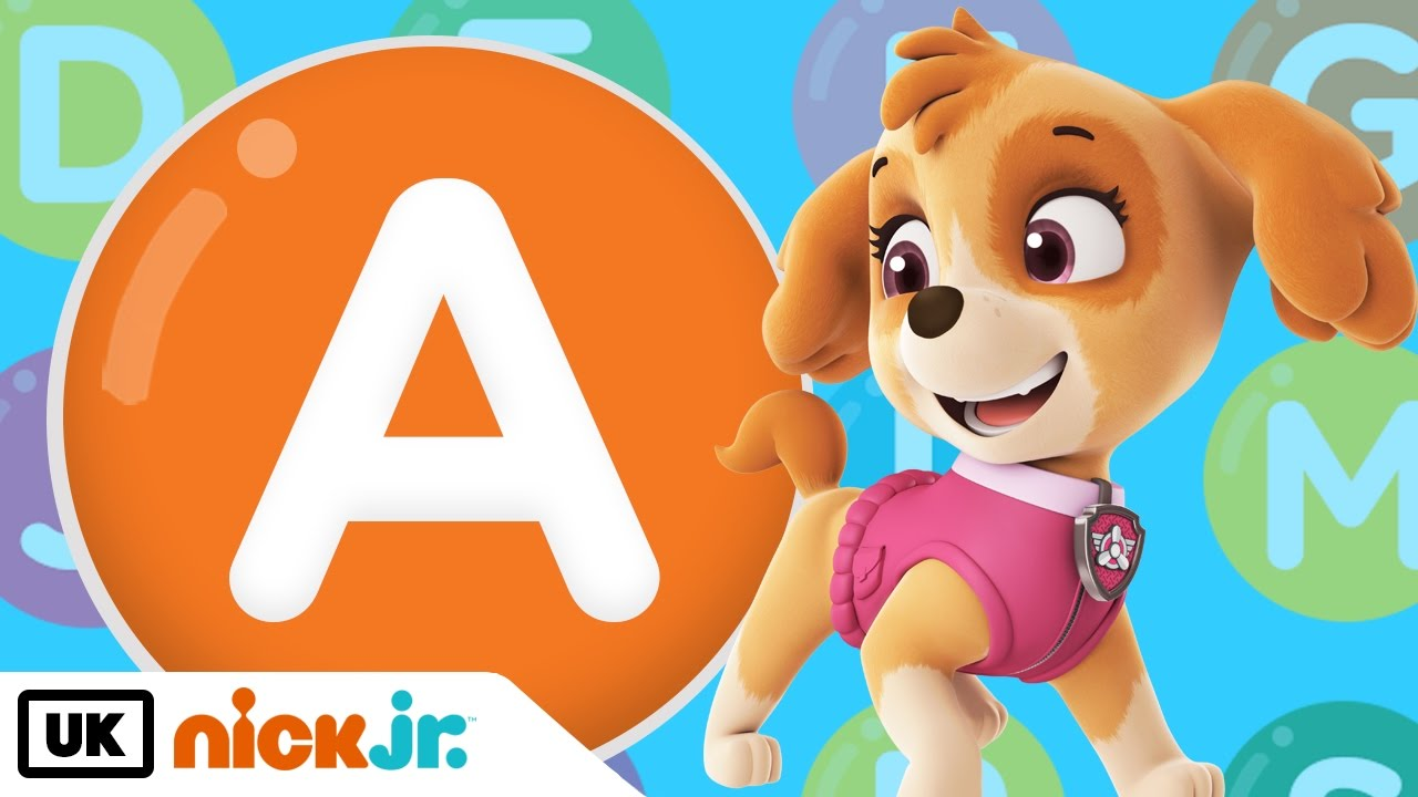 Words beginning with A! – Featuring PAW Patrol | Nick Jr. UK - YouTube