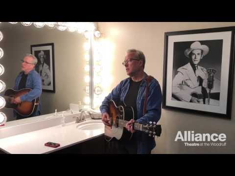 """Radney Foster """"Troubadour"""" backstage at the Grand Ole Opry"""
