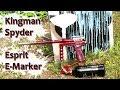 Kingman Spyder Esprit Paintball E-Marker - Full Auto and Burst Modes