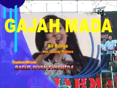 AIR BUNGA  VOC, SANTY MUTIARA GAJAHMADA DEMAK ISTIMEWA LIVE TERGULI WONOSALAM 2016