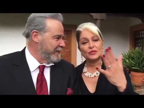 Cesar Evora y Daniela Romo