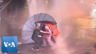 Thailand: Water Cannon Used on Protesters