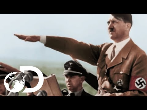 How Hitler Invaded Half Of Europe | Greatest Events Of World War 2 In Colour
