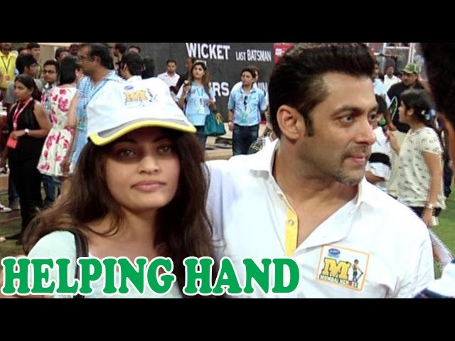 Salman Khan Helps Sneha Ullals Mom During Her Battle With Cancer   Bollywood News