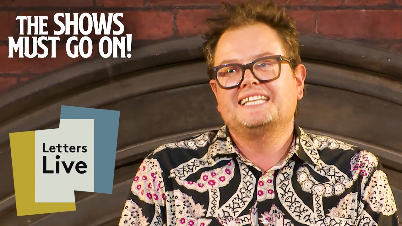 Alan Carr's Rather Sticky Situation Reading   Letters Live