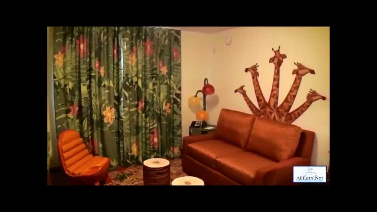 Art of Animation Resort Lion King Family Suite - YouTube