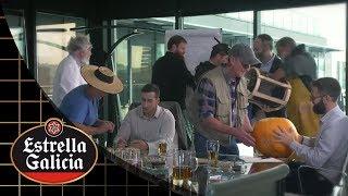 Fábrica de Cervezas Estrella Galicia. Cerveza de Pimientos de Padrón