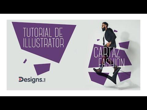 Tutorial de Illustrator  - Criando um cartaz fashion (DESIGNS.NET)