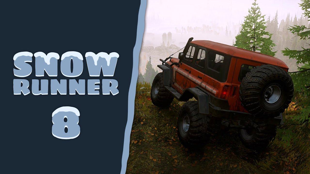 SnowRunner - Cap. 8 - Más allá de la píceas