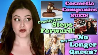 What's Up in Makeup NEWS! More Beauty Brands SUED! Global Steps To Cruelty Free! Beyonce Dethroned? thumbnail