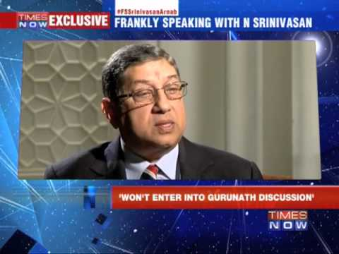Frankly Speaking with N Srinivasan - Part 1