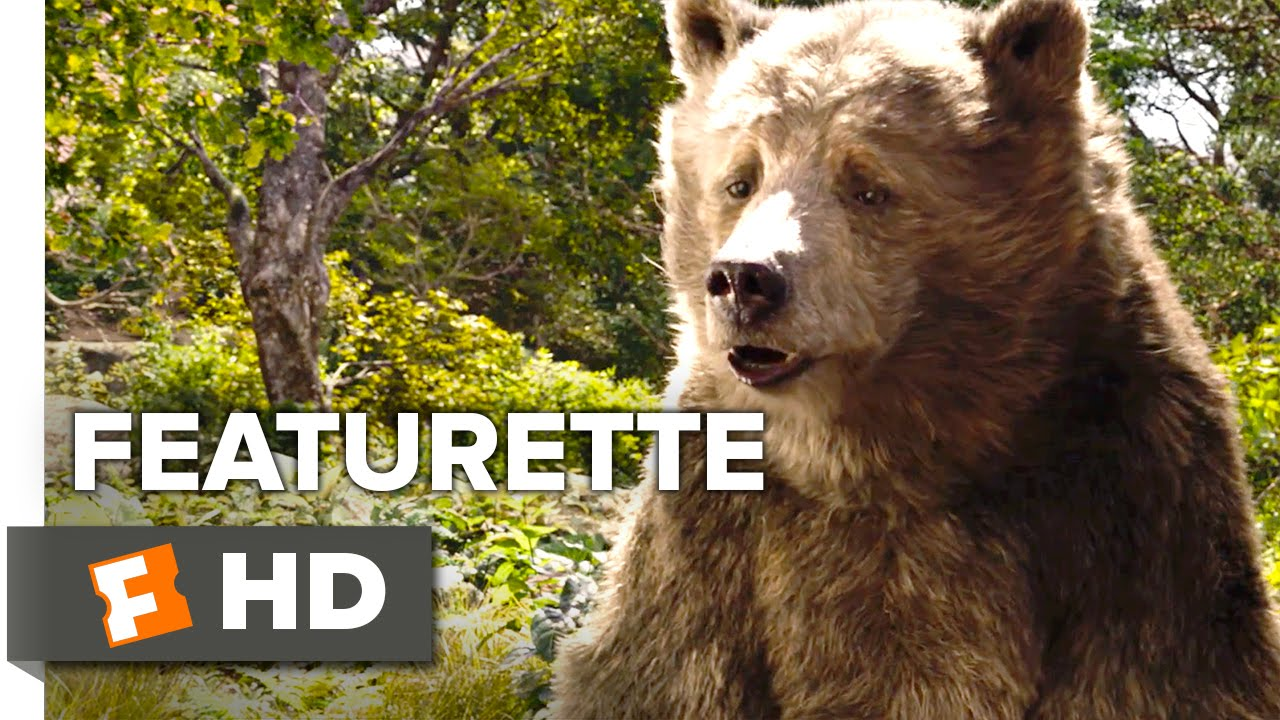 Download The Jungle Book Featurette - Voices of the Jungle (2016) - Bill Murray, Ben Kingsley Movie HD