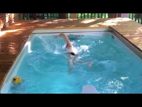 SwimEx Triton Swim Spa - YouTube
