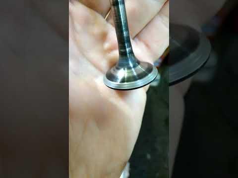 Как выглядит притёртый клапан