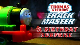 A Birthday Surprise with TrackMaster   Playing Around with Thomas & Friends   Thomas & Friends