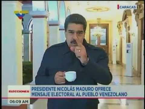 Maduro llama a votar