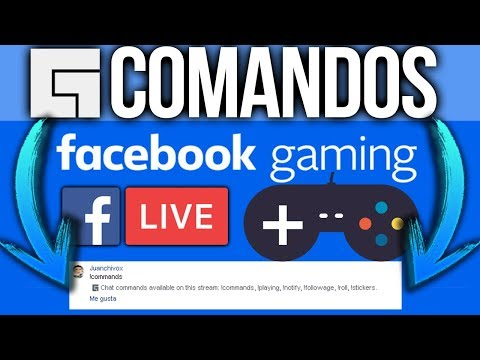 Como Activar Los *COMANDOS De CHAT* En *Facebook Gaming* (LEVEL UP) !Commands