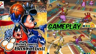 Disney Sports Basketball Gameplay - 3 Matches GC HD