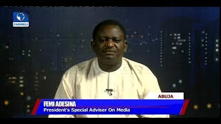 'Jailing More Thieves Comments', Only Thieves, Potential Thieves Have Cause To Worry - Adesina