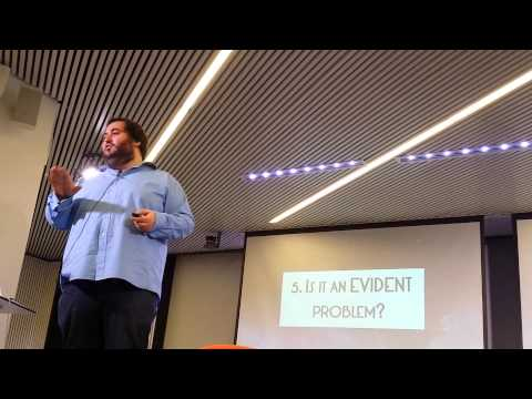 I got 99 problems, but... how to pick just one? by Oussama Ammar - TheFamily Barcelona