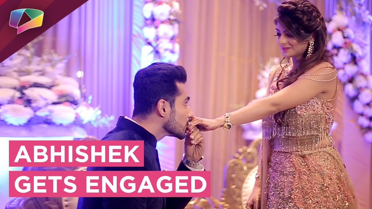 Abhishek Bajaj Gets Engaged | Romantic Ring Ceremony - YouTube
