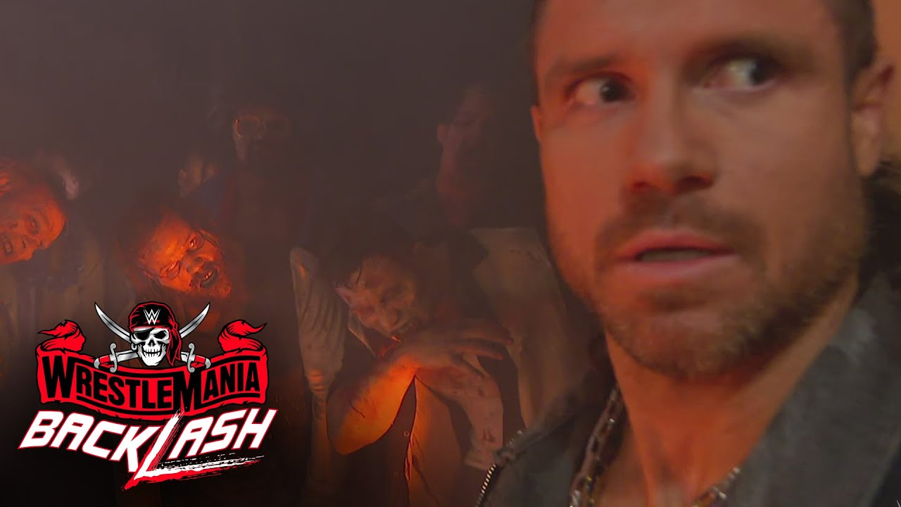 John Morrison stumbles upon the Army of the Dead: WrestleMania Backlash 2021 (WWE Network Exclusive)