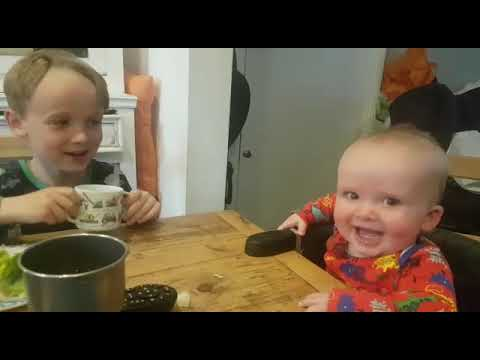 Eric Hunter - Big Brother Makes Baby Brother Laugh