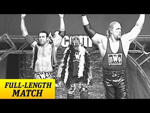 """The Rock & """"Stone Cold"""" battle all three members of the n.W.o"""