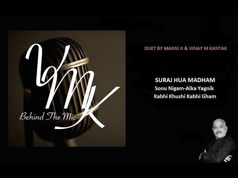 suraj-hua-madham-vocal-cover-duet-by-mansi-ji-&-vinay-m-kantak