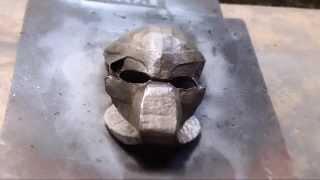 #81: Predator Bio-Mask Part 2 - Papermache & Paint | Costume Prop | How To | Dali DIY